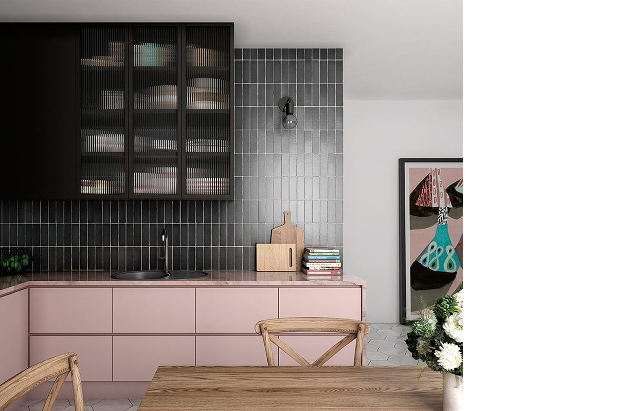 squarerooms-hafary-kitchen-eclectic-pink-counter-black-tiles