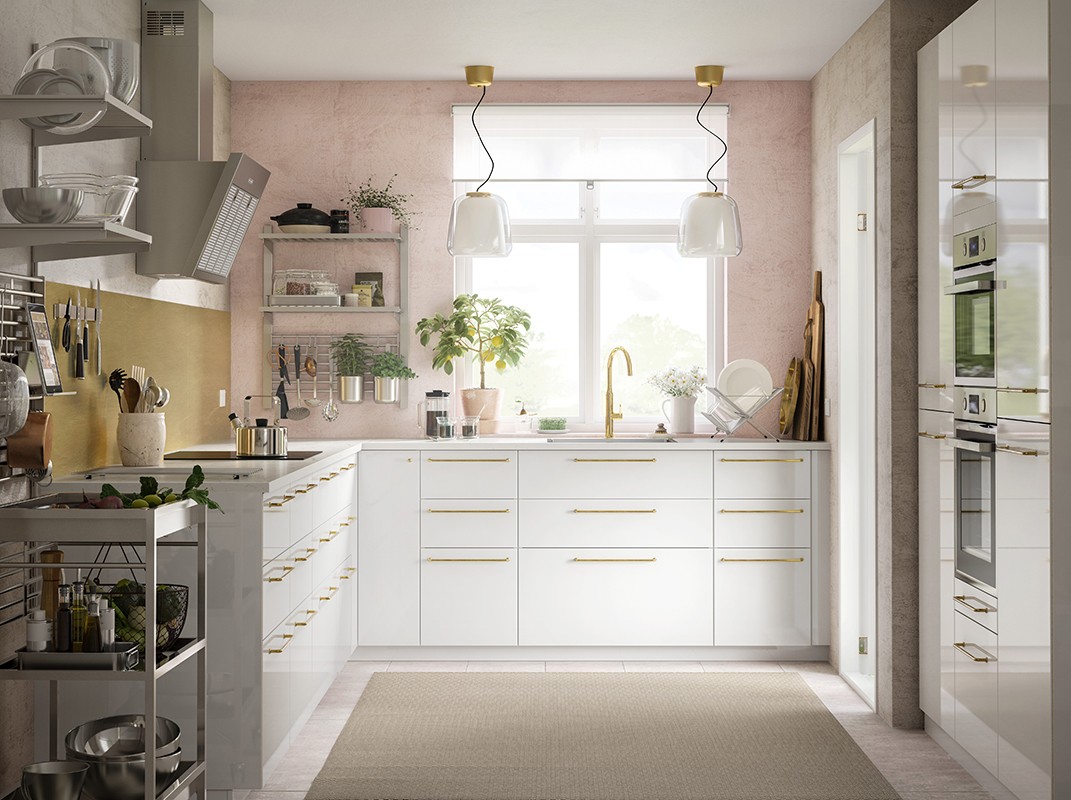 squarerooms-ikea-kitchen-pink-cute-vintage