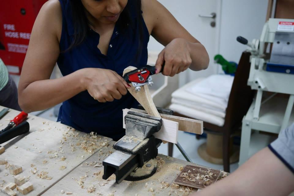 squarerooms-one-maker-group-workshops-handmade-wooden-furniture-sawing