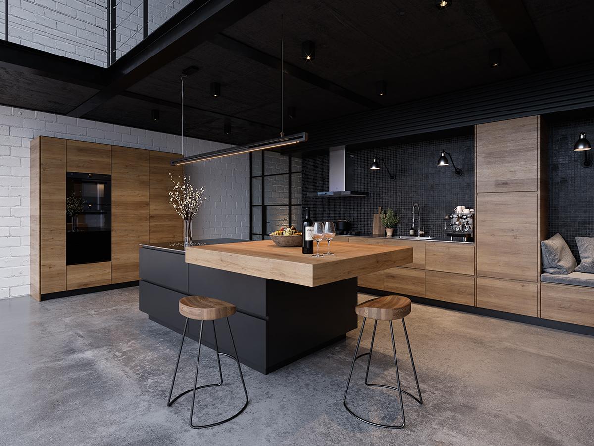 squarerooms-zvug-kitchen-black-wooden-contemporary-rustic