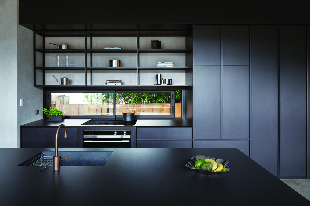 squarerooms-fisher-and-paykel-kitchen-dark-black-sleek