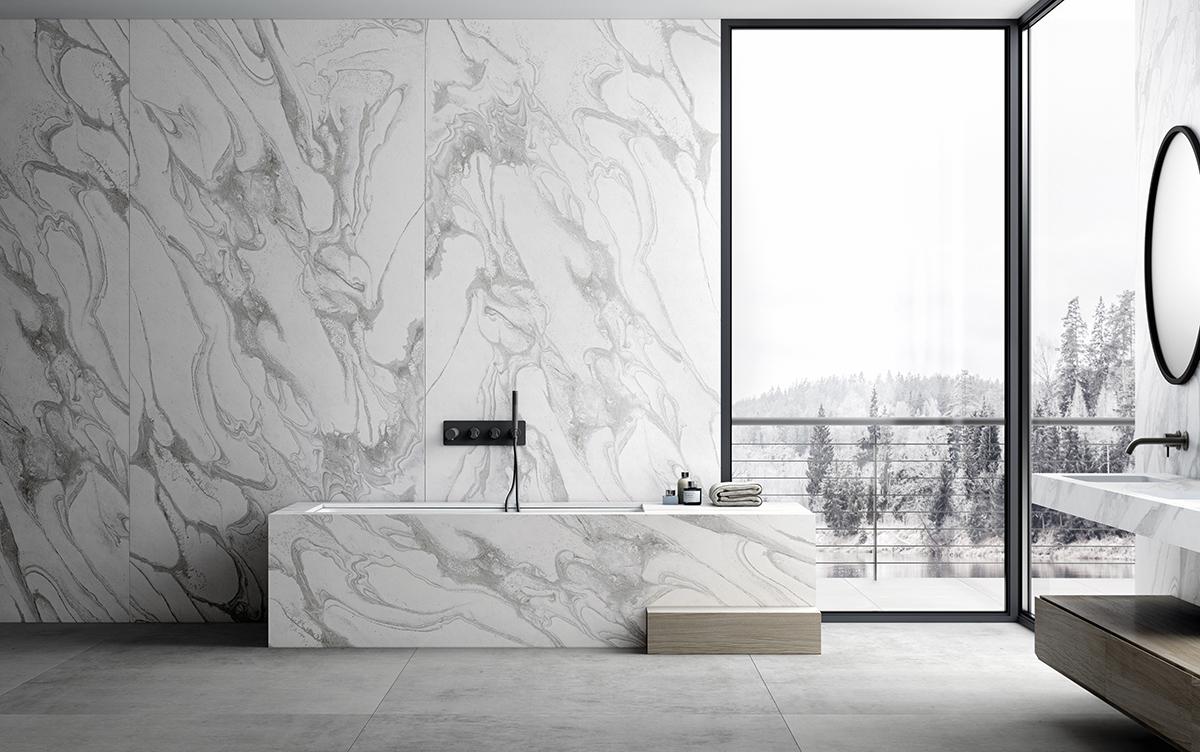 squarerooms-dekton-cosentino-counter-white-veined-marble-bathroom-luxury-luxurious-sleek-elegant-monochromatic