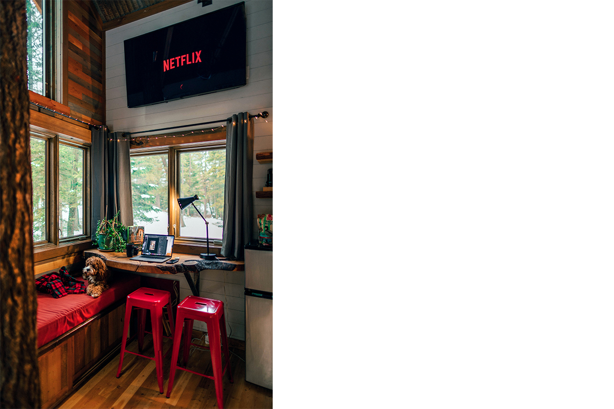 squarerooms-cafe-corner-cosy-home-netflix-red-cabin-dog-small-vibe-hipster