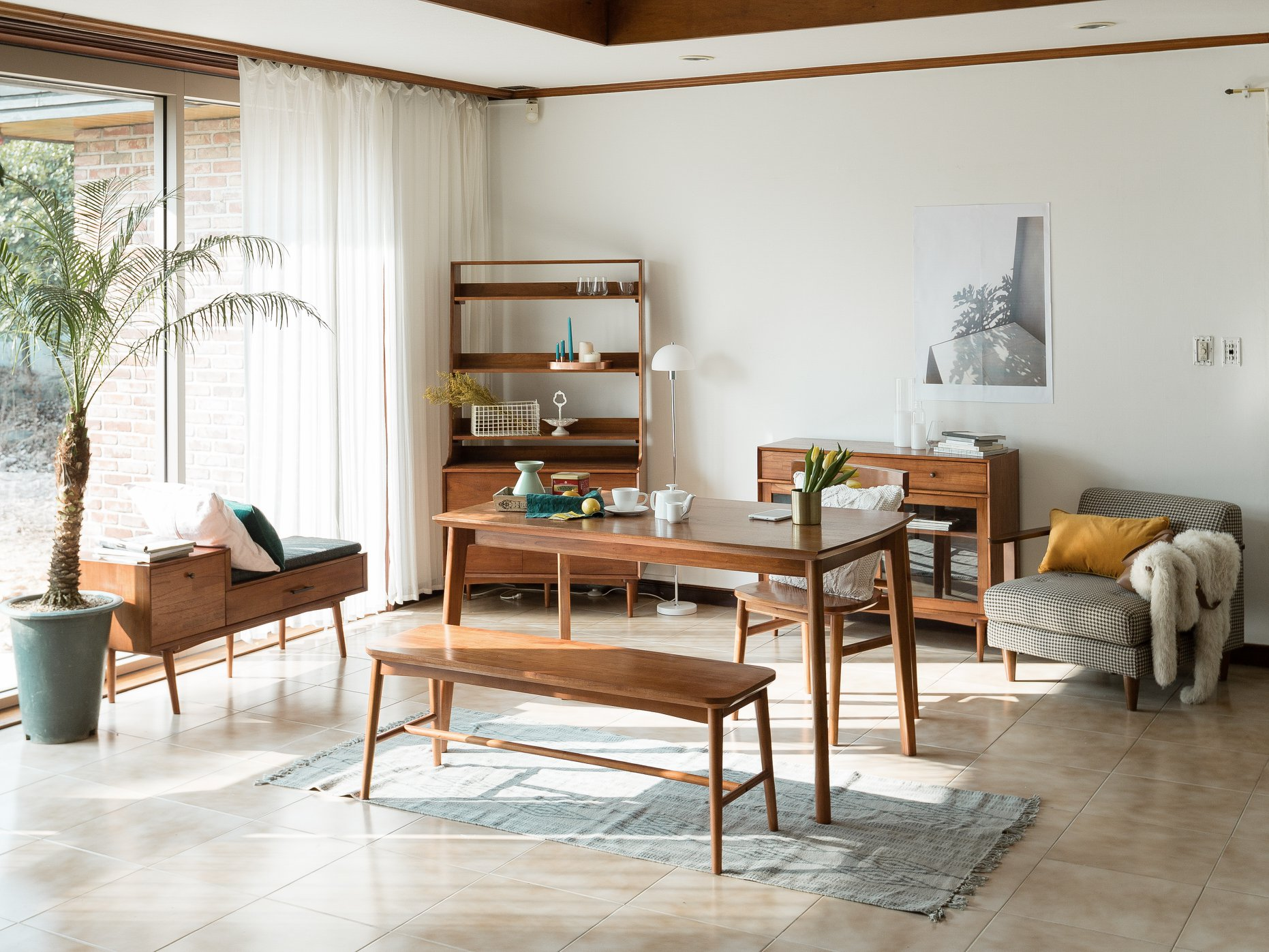 squarerooms-born-in-colour-wooden-furniture-living-dining-room