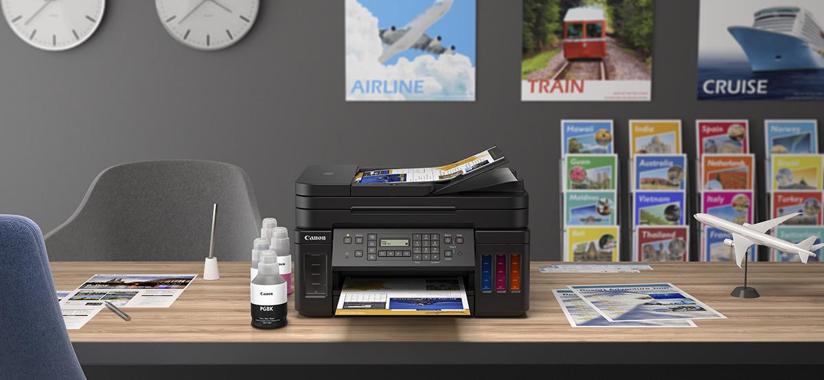 squarerooms-canon-pixma-g7070-printer-desk-work-from-home-lifestyle-photo
