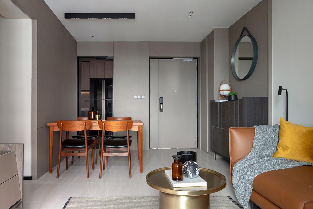 squarerooms-joey-khu-interior-design-hdb-flat-renovation-home-inspo-contemporary-grey-black-dark-overall-view-hallway-dining-area