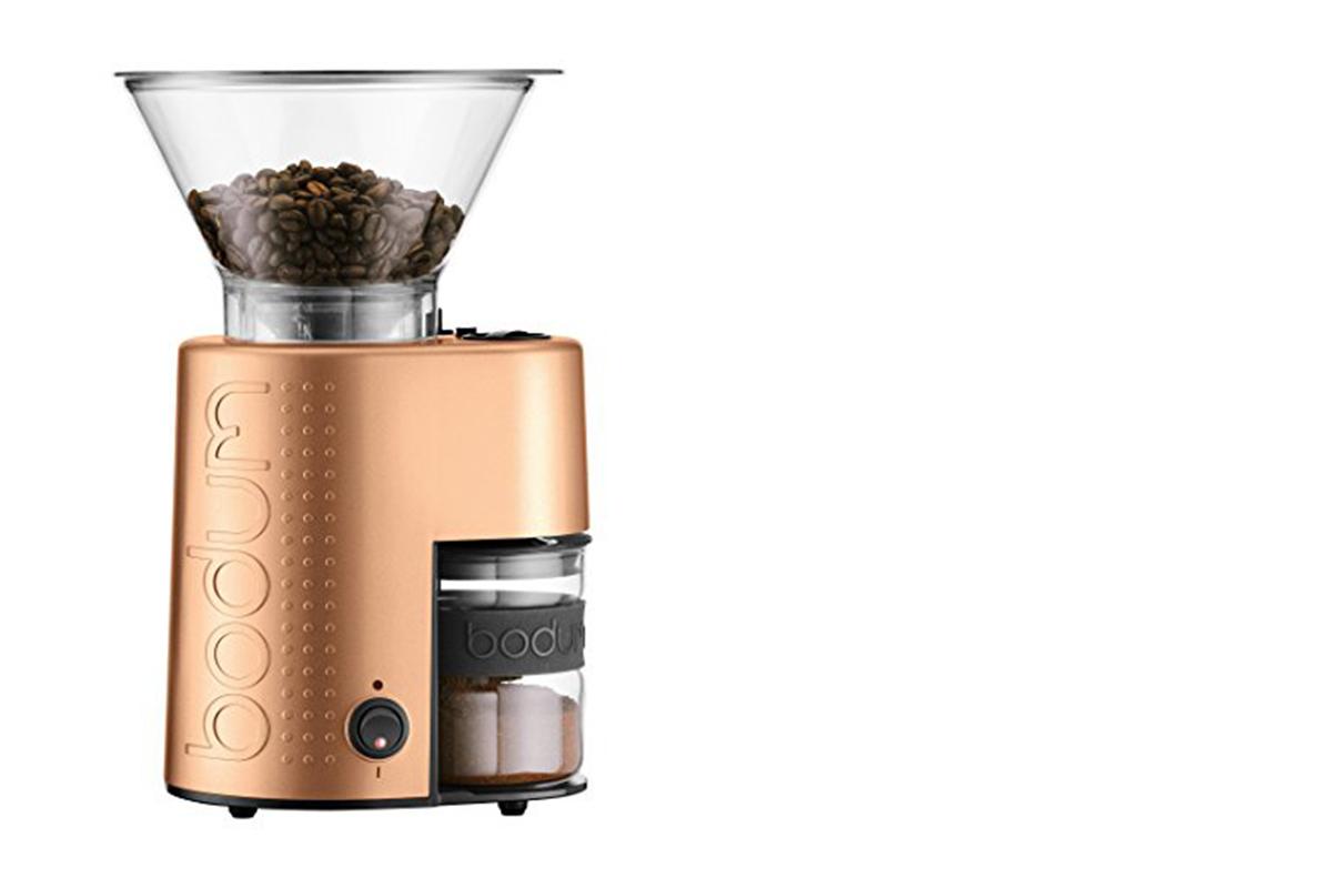 squarerooms bodum bistro burr coffee grinder krisshop