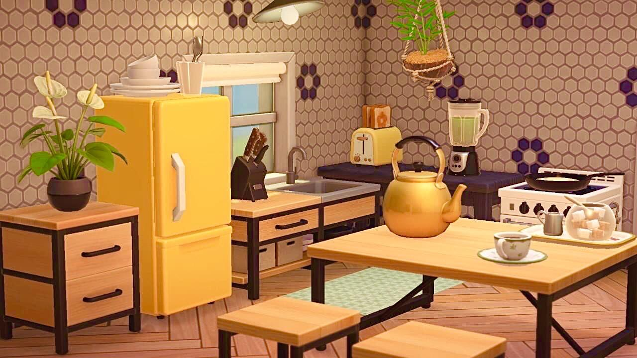 Here's How You Can Easily Recreate Your Animal Crossing ... on Animal Crossing Kitchen Island  id=37201