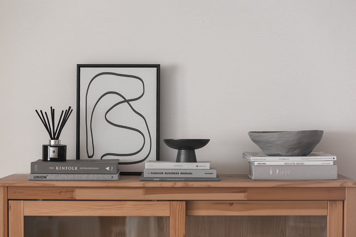 squarerooms monica anne lie side table wooden display minimalist decor