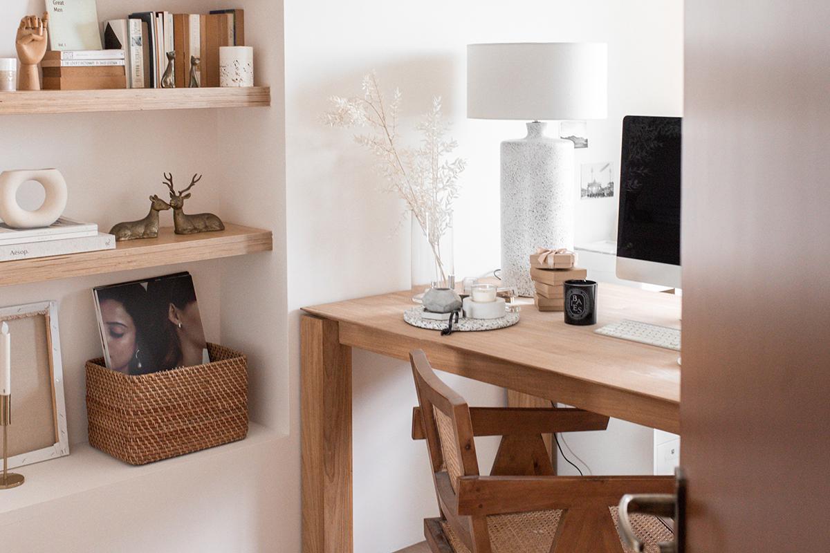 squarerooms monica anne lie home office study desk scandinavian wooden design minimalist