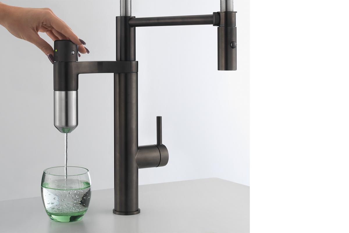 squarerooms franke water filter tap Vital Capsule