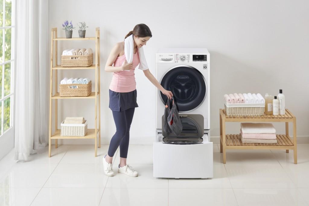 squarerooms lg twinwash washing machine