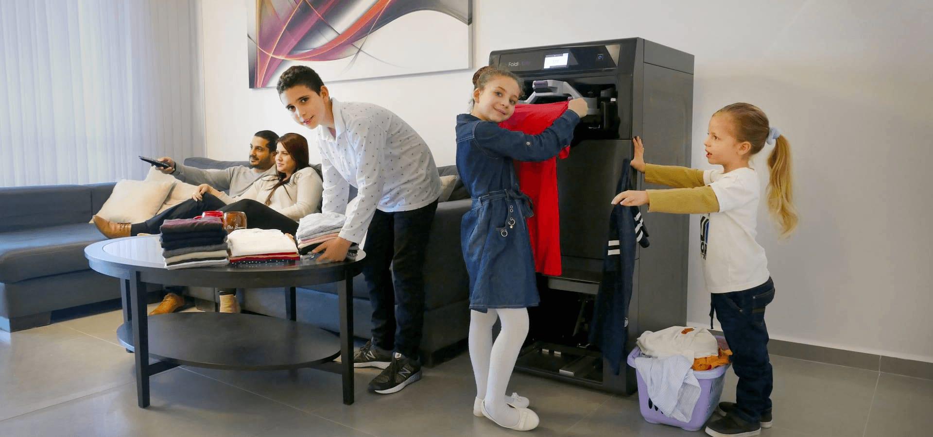 squarerooms foldimate family laundry robot automatic folder
