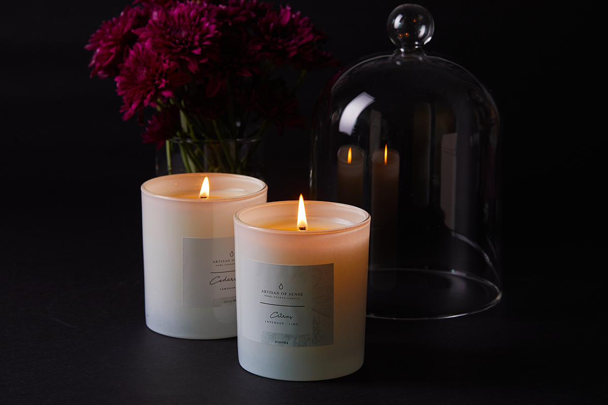 squarerooms artisan of sense home fragrance candles dark moody romantic