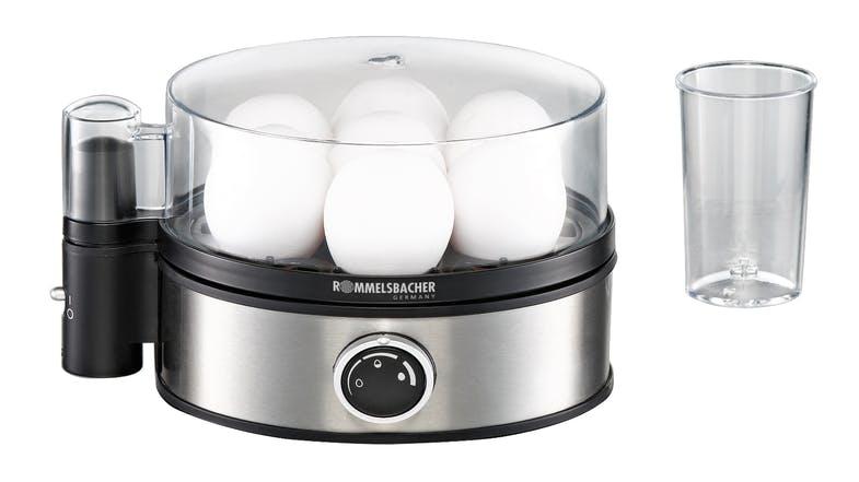 squarerooms rommelsbacher harvey normal egg boiler grey sleek cooking device