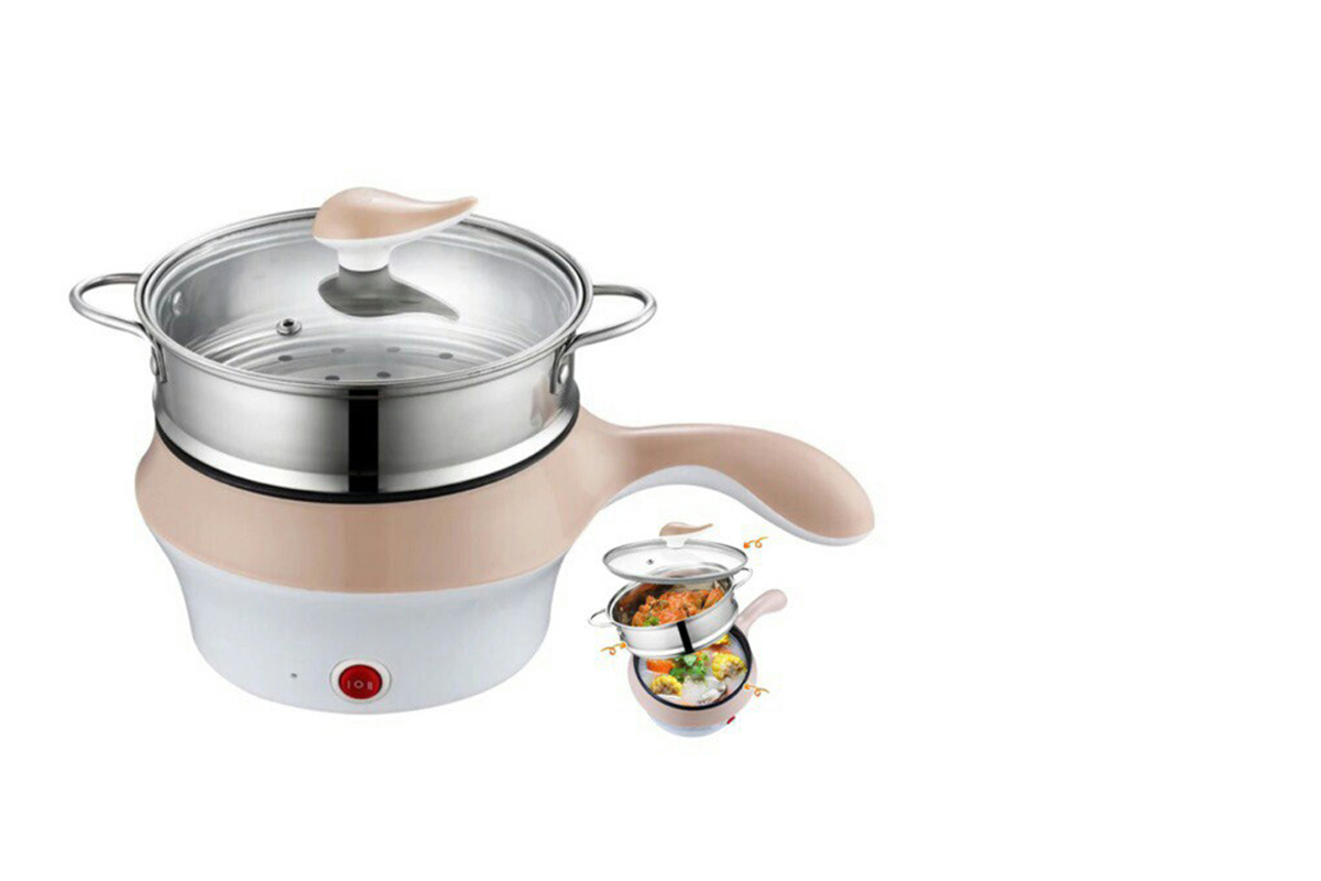 squarerooms mini electric cooker with frying pan multifunctional cooking appliance