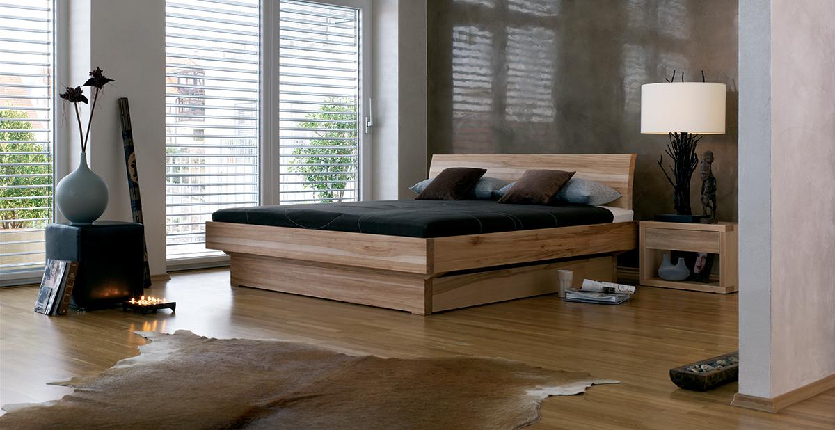 squarerooms dormiente wooden bed frame rustic room design dark bedding