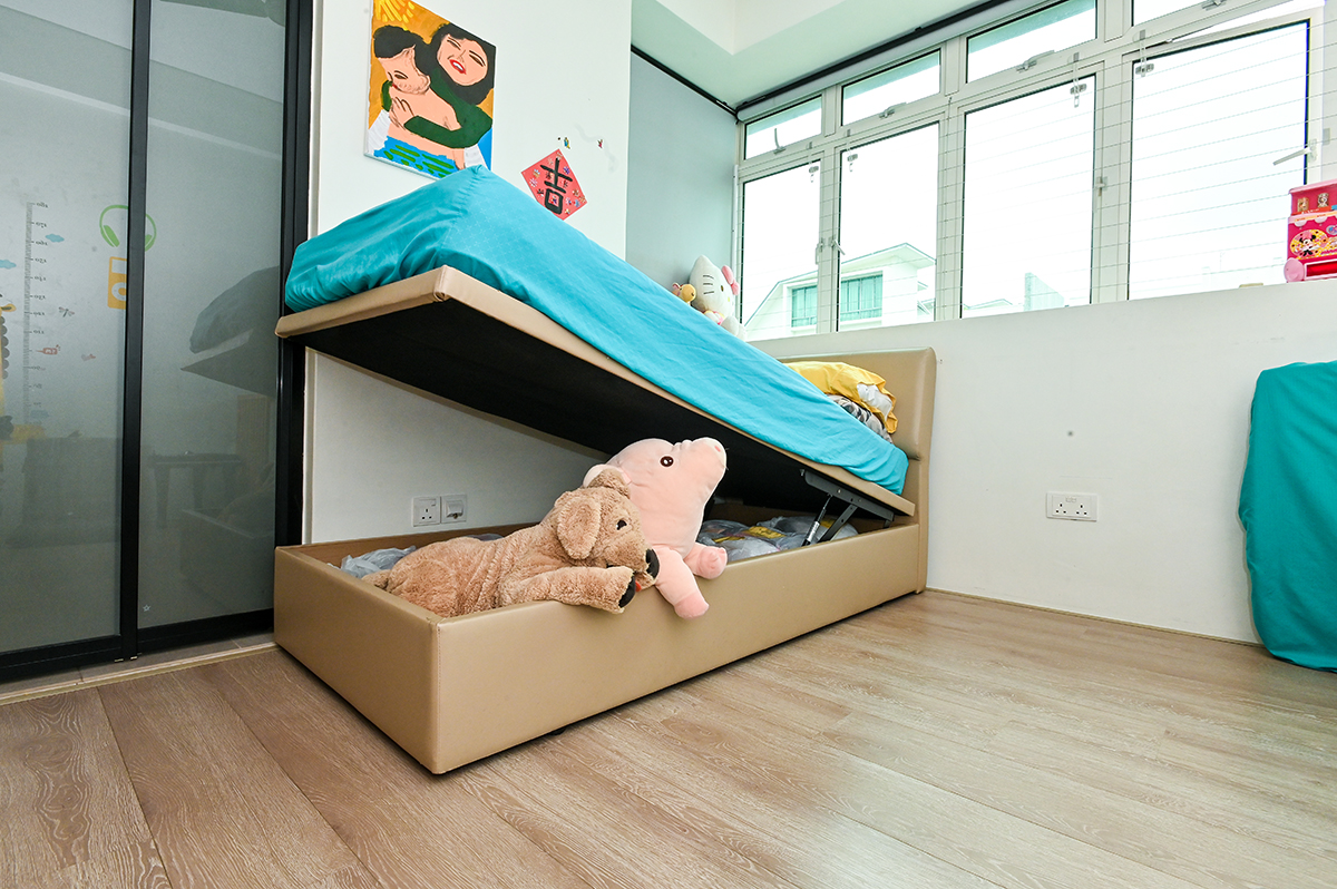 squarerooms luigi la tona joyce chung home organisation kids bedroom storage childrens bed