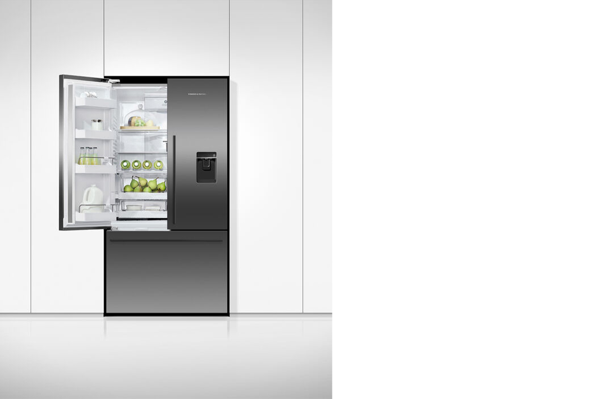 squarerooms fisher and paykel open fridge