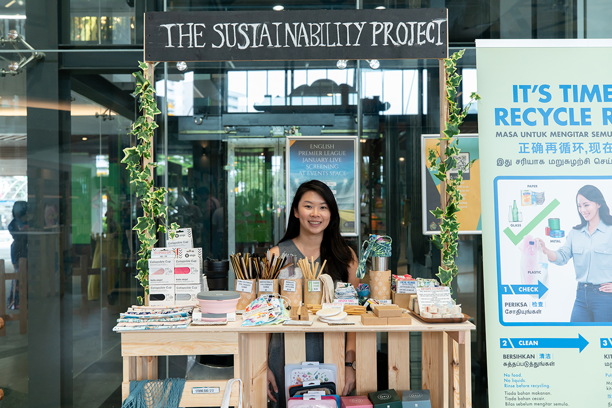 squarerooms the sustainability project joline tang market pop up stall