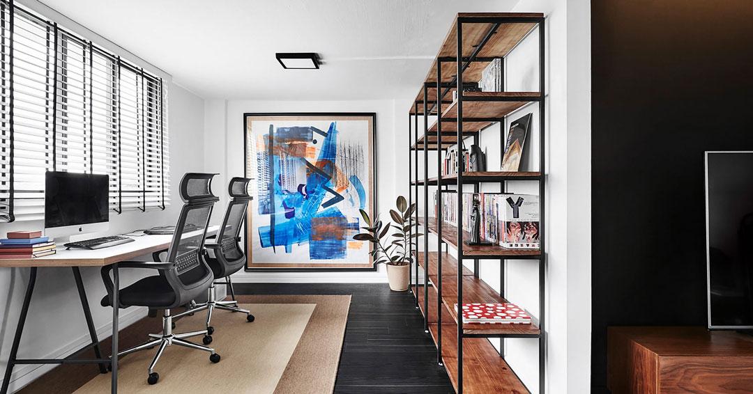 squarerooms third avenue studio home office double desk
