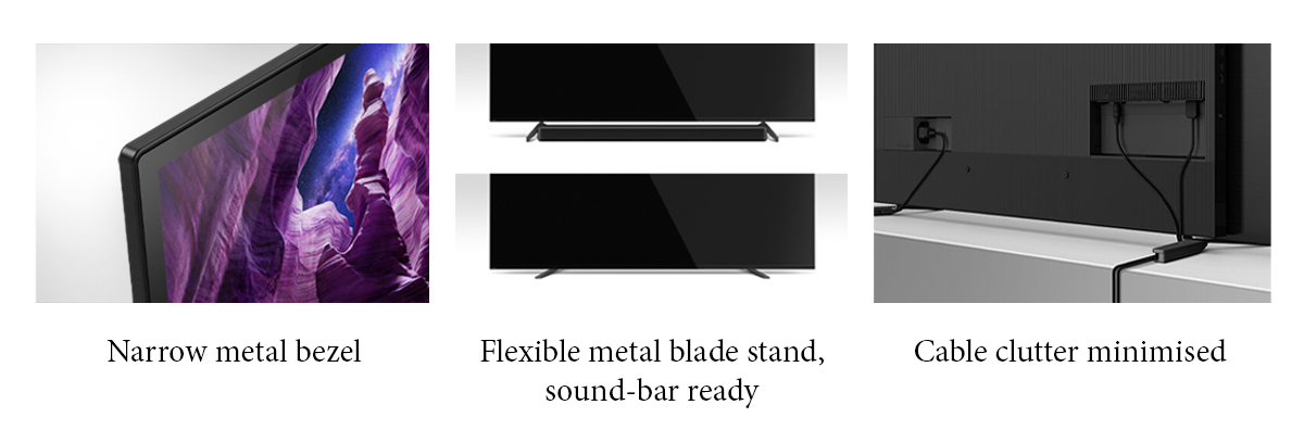 squarerooms sony a8h bravia tv screen features