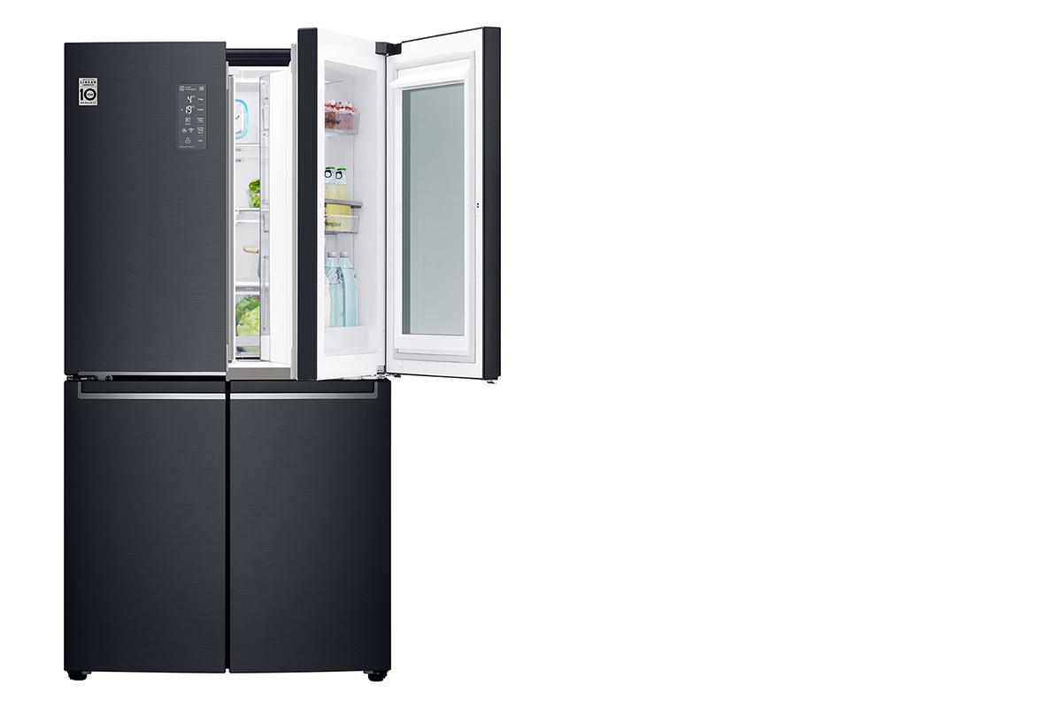 squarerooms kitchen appliance lg family fridge