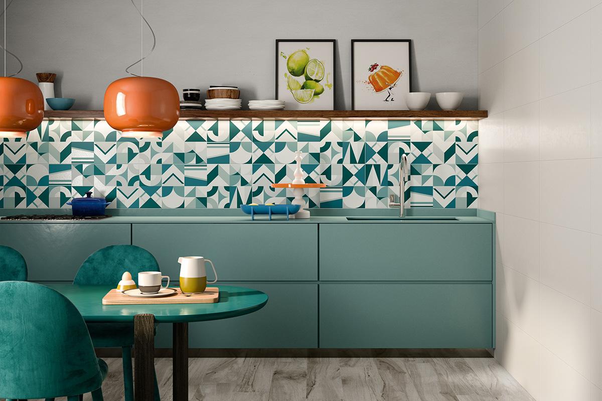 squarerooms bright blue turquoise backsplash tiles cabinets soon bee huat hub series