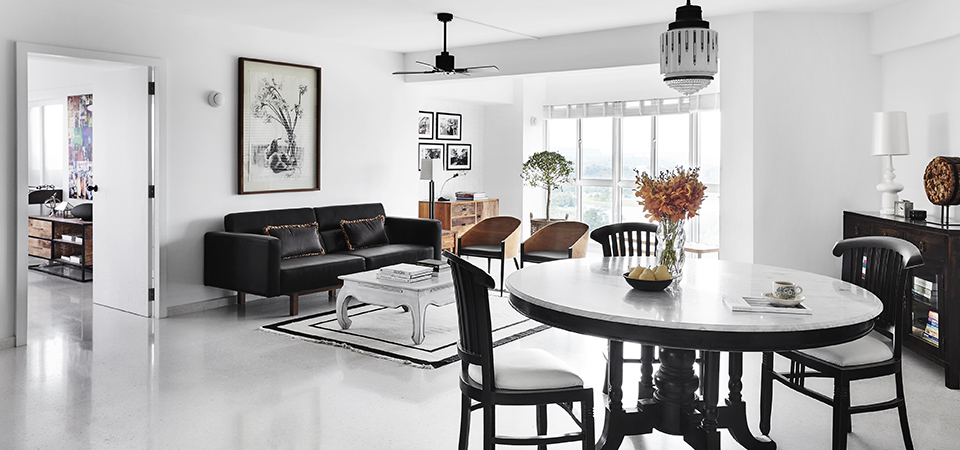 squarerooms daniel yun white minimalist modern home design artwork on walls