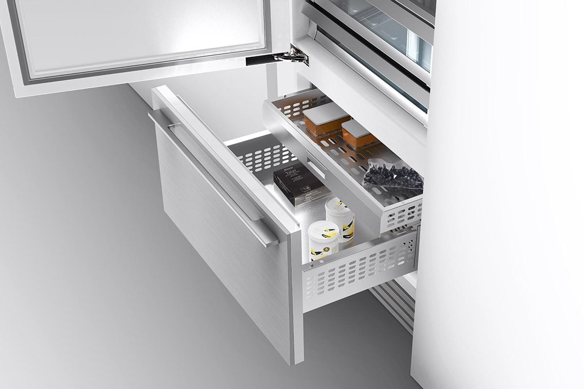 squarerooms vzug new luxury fridge freezer drawer