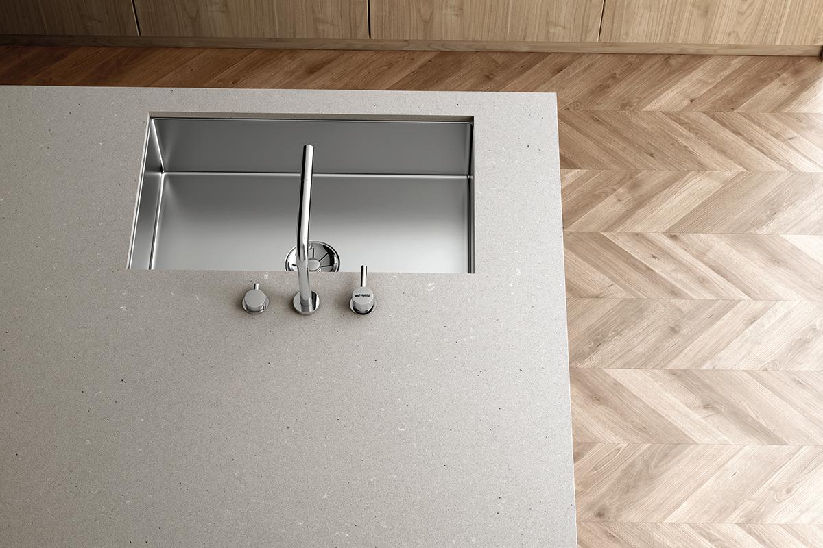 squarerooms quartz cosentino silestone kitchen surface countertop white
