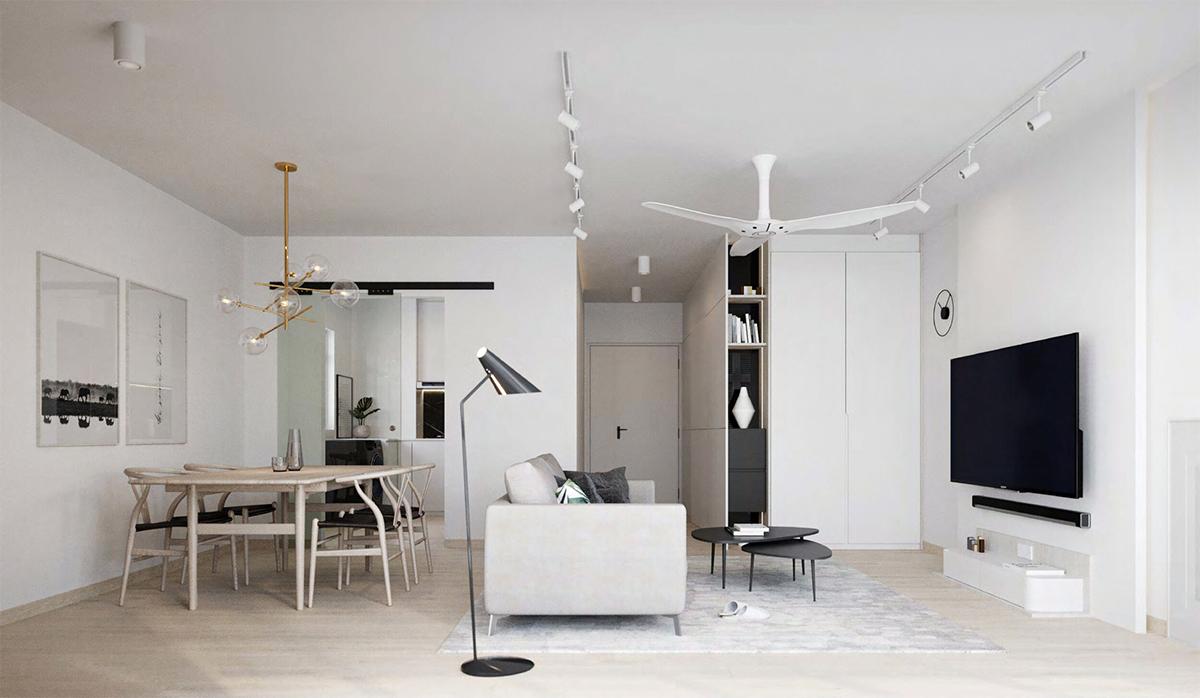 squarerooms 1618 studio interior design white minimalist hdb living room