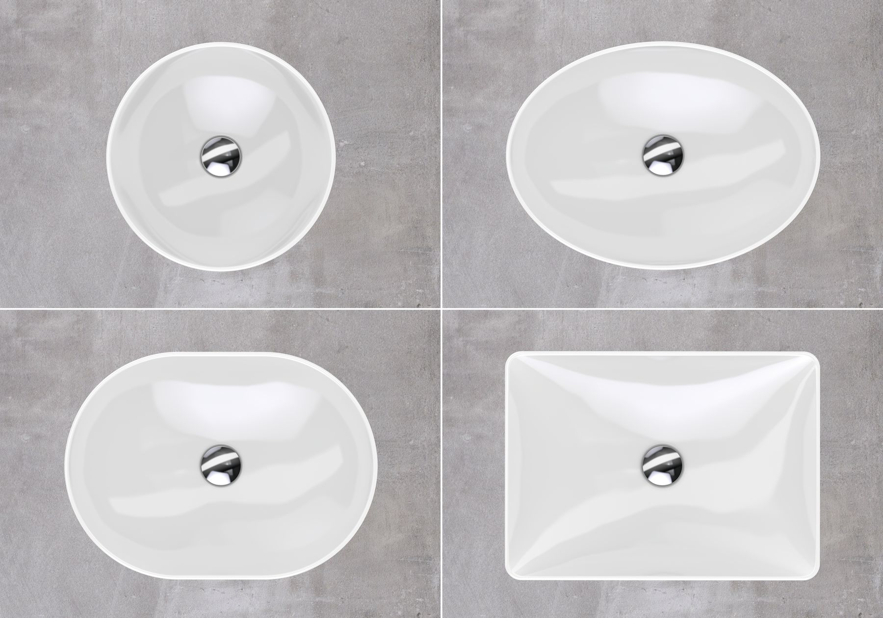 squarerooms bathroom geberit variform washbasin white ceramic sink luxurious grey shapes