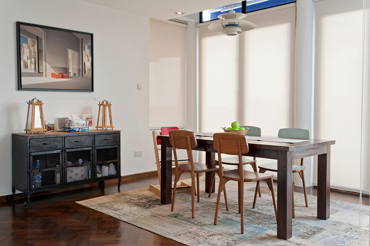 squarerooms richfield landed property house renovation dining area wooden table room
