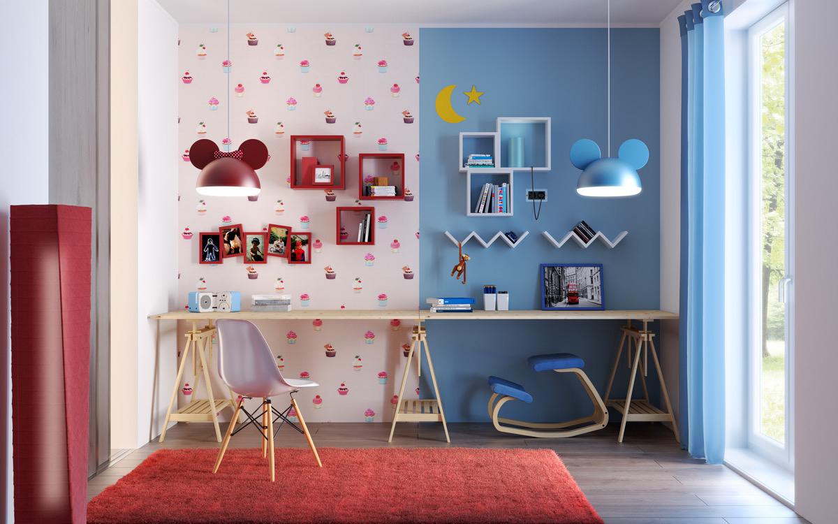 squarerooms-unisex-kids-room-half-half-colour-blocking-wall