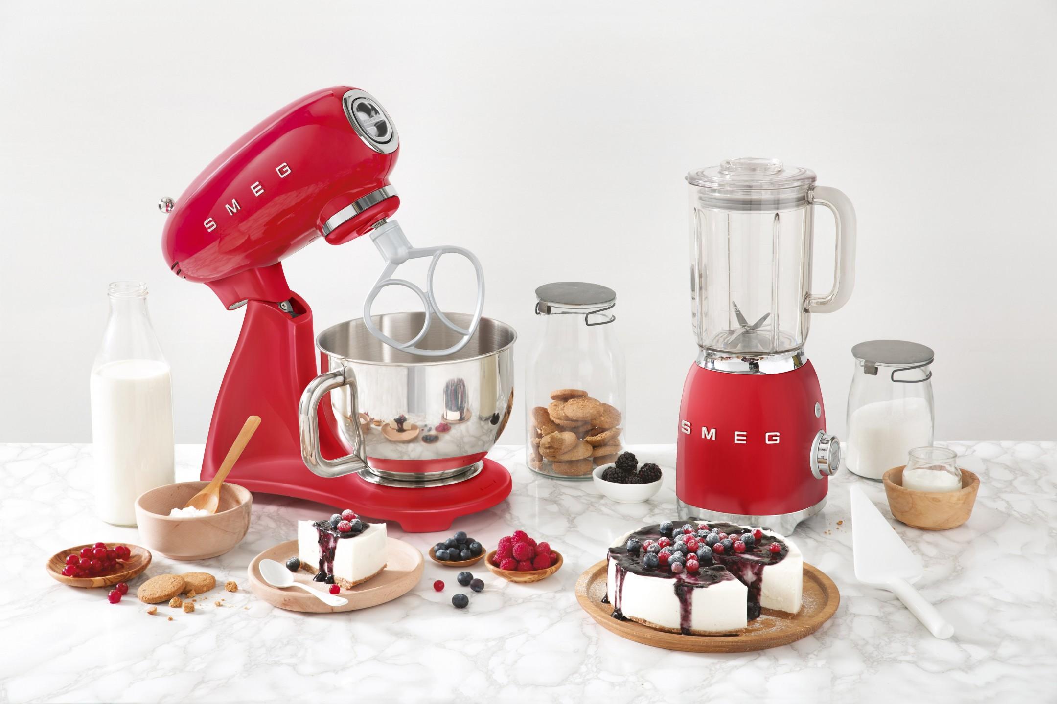 squarerooms smeg blender stand mixer red kitchen appliances lifestyle