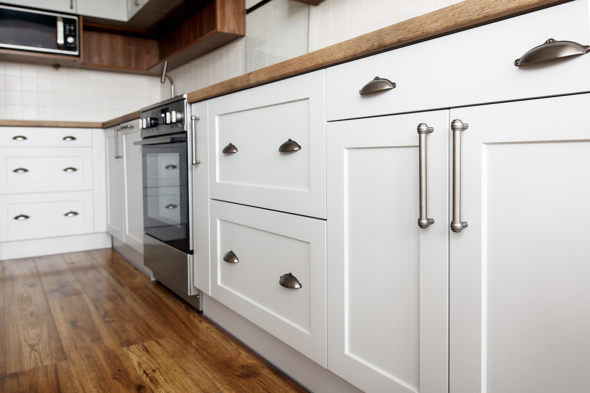squarerooms white wood kitchen cabinets farmhouse rustic