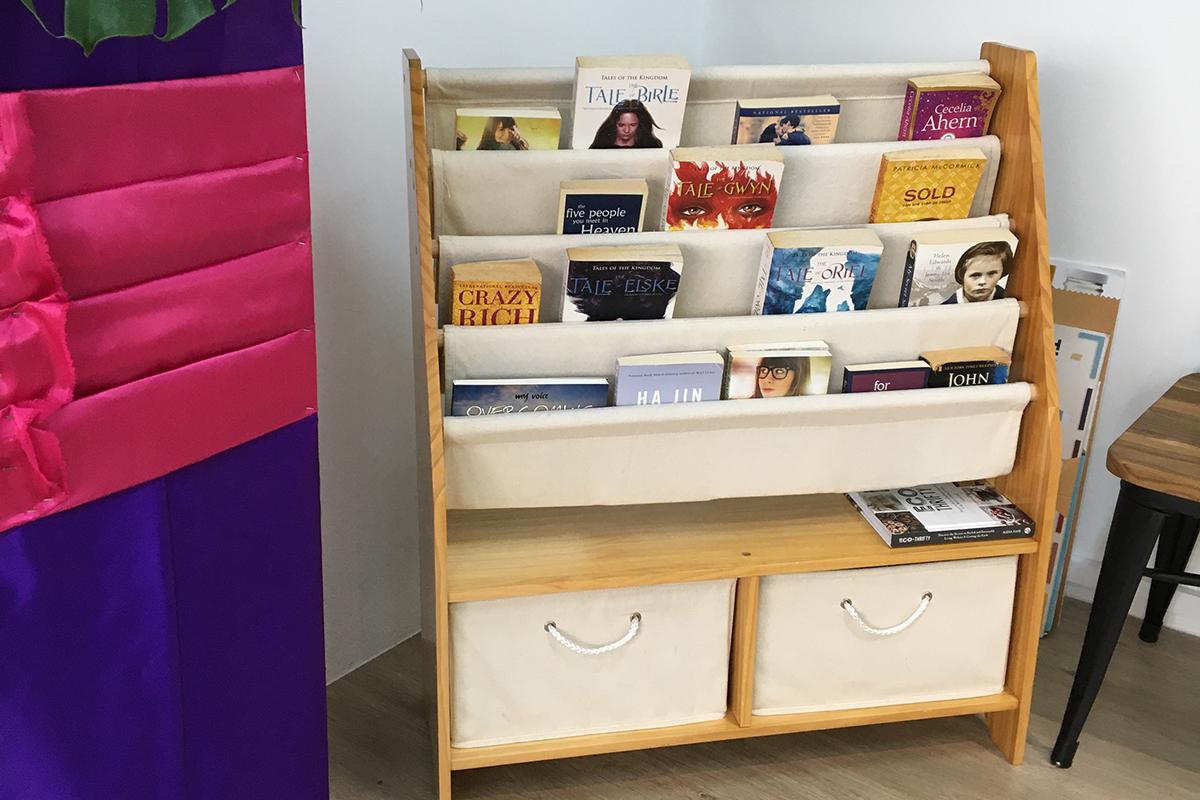 squarerooms the sustainability project showroom eco friendly shop singapore shelf books