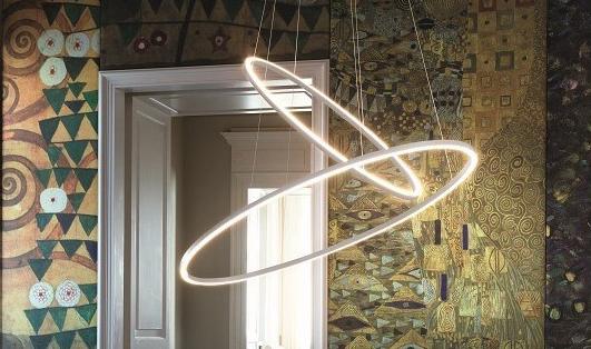 squarerooms nemo ellisse double pendant lamp light royal interiors gold white designer iconic