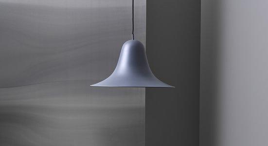 squarerooms finnish design shop verpan pantop pendant lamp light grey designer iconic