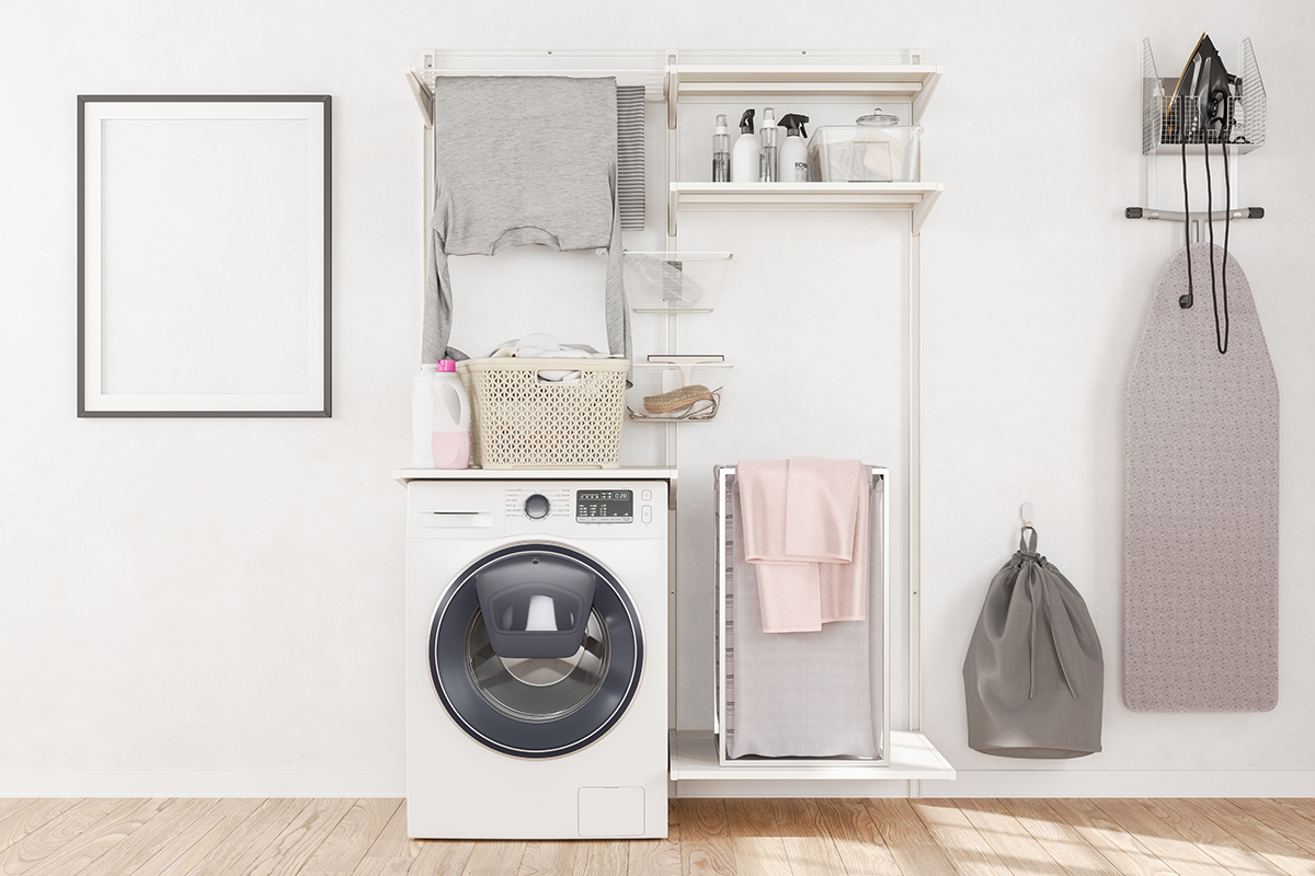 squarerooms laundry room service yard washing machine clothes