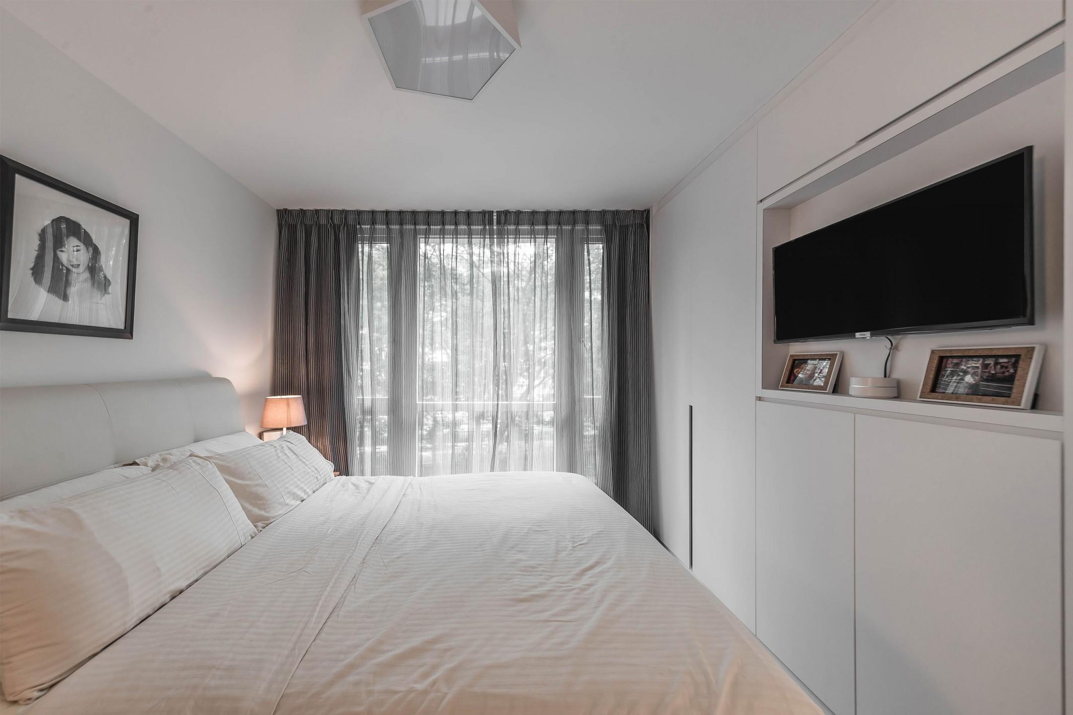 squarerooms renozone condo condominium renovation home interior design bedroom minimalist white