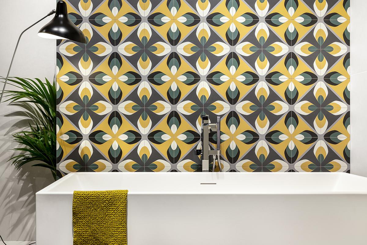 squarerooms soon bee huat sbh tiles fun yellow black white bathroom bathtub
