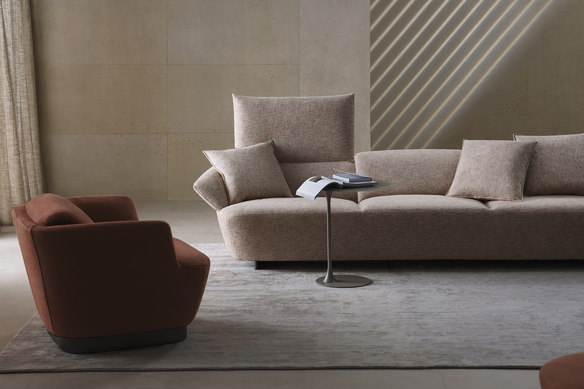 squarerooms king living fleur sofa couch armchair pink red elegant contemporary luxury high end furniture soft furnishings