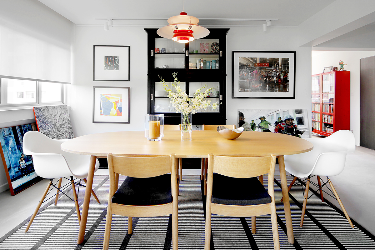 squarerooms brim design home renovation neptune court interior styling makeover cosy inviting warm dining room wood table