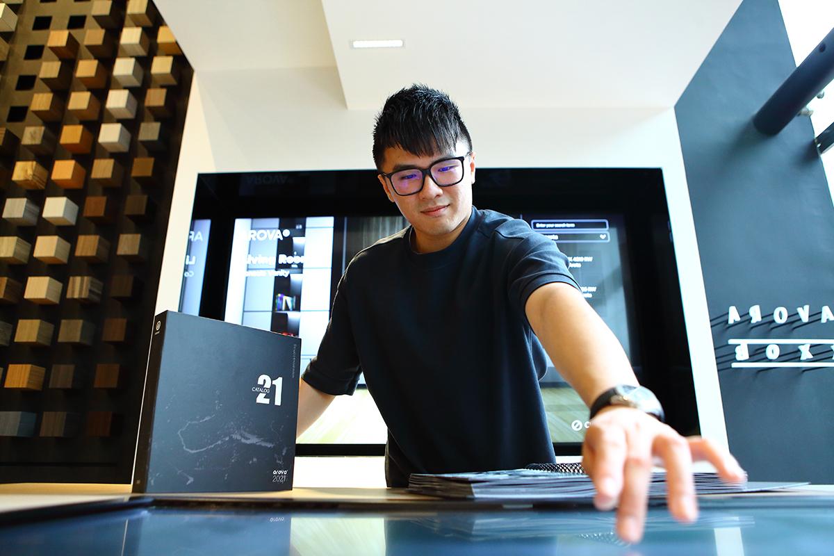 squarerooms arova brand story eric lim director laminates