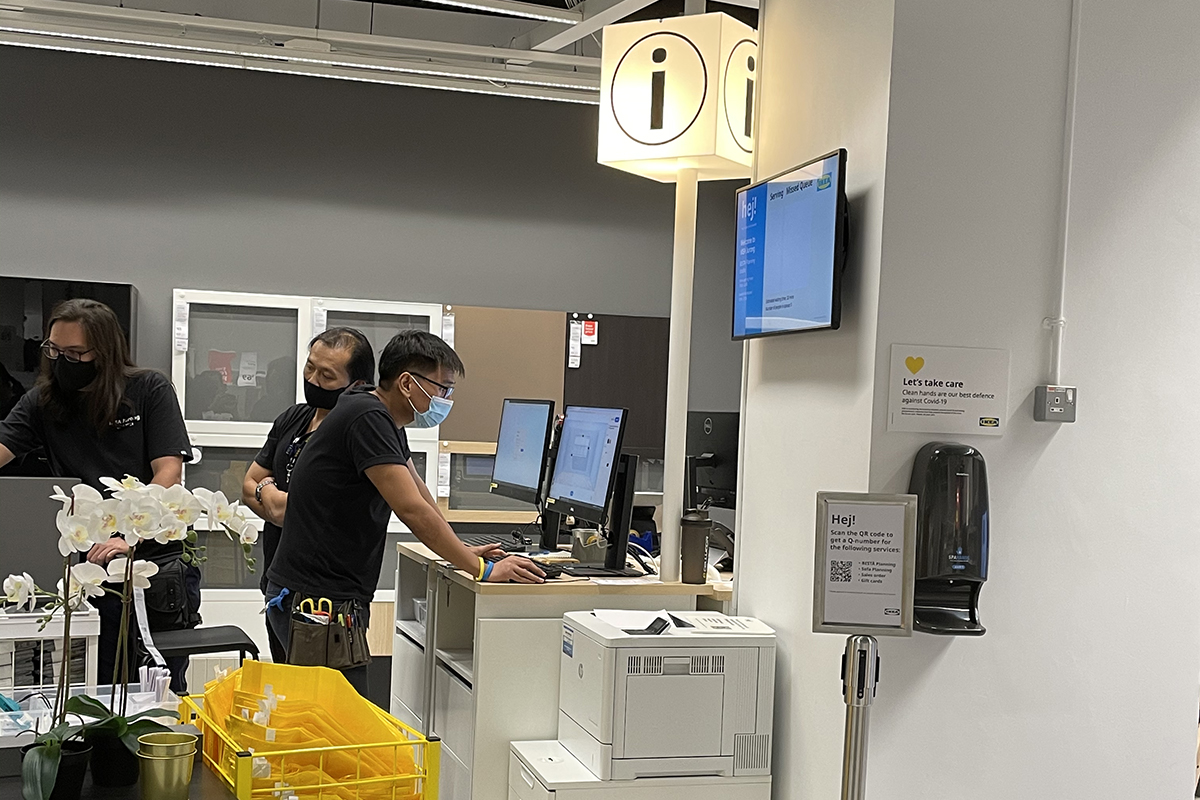 squarerooms ikea new store shop at jem shopping mall furniture small concept opening help desk info