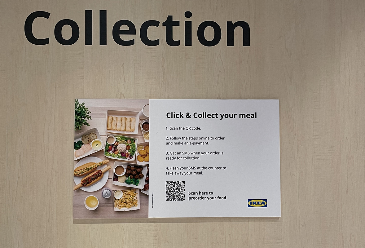 squarerooms ikea new store shop at jem shopping mall furniture small concept opening restaurant click and collect takeaway order
