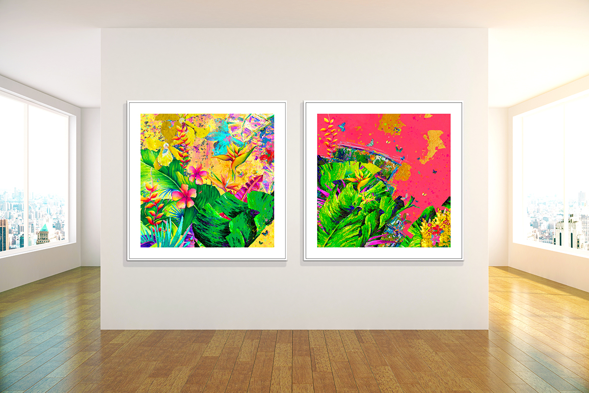 squarerooms mishell leong artwork art gallery home paintings wall