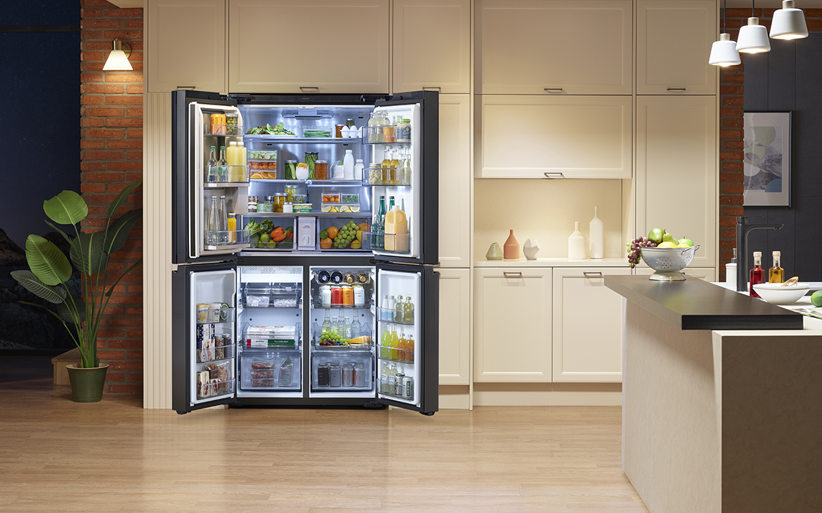 squarerooms samsung flex fridge refrigerator new launch singapore kitchen appliances luxury home interior buy